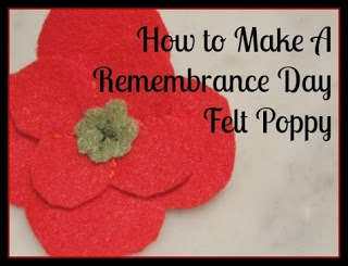 #howto make a felt #poppy