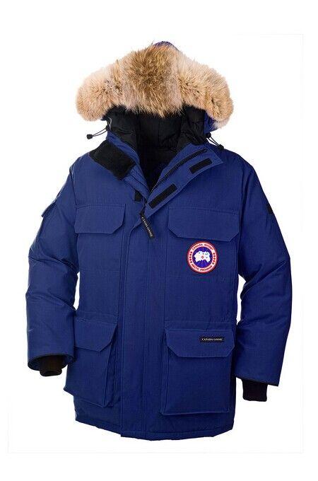 Canada Goose Expedition Parka Blue Men's