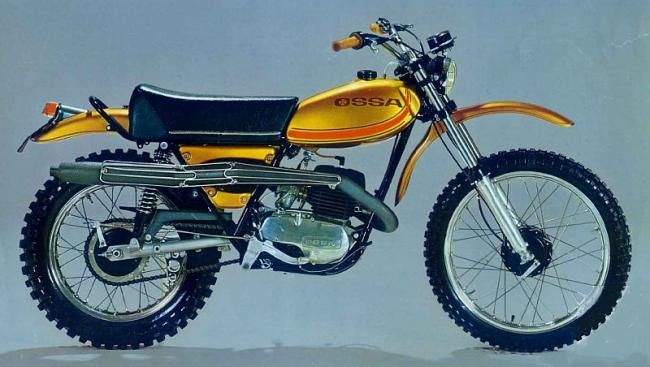 OSSA– HFS – Progressive suspension system for Classic Motocross and Enduro motorbikes. Option available:       …