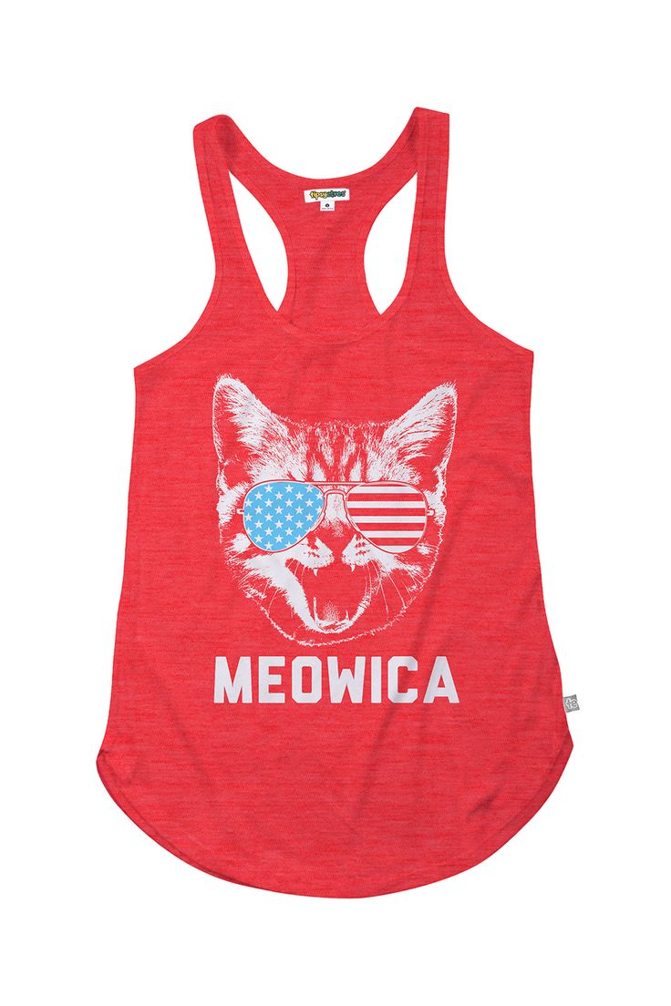 Women's Meowica Tank Top   Tipsy Elves   obvi we cant make this but it makes me laugh