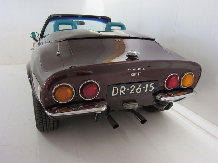 Opel - GT/J Sport Cabriolet - 1972