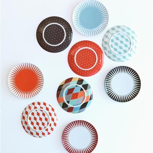 BRAKIG Πιάτο, 2 τεμ. διάφορα σχέδια - IKEA