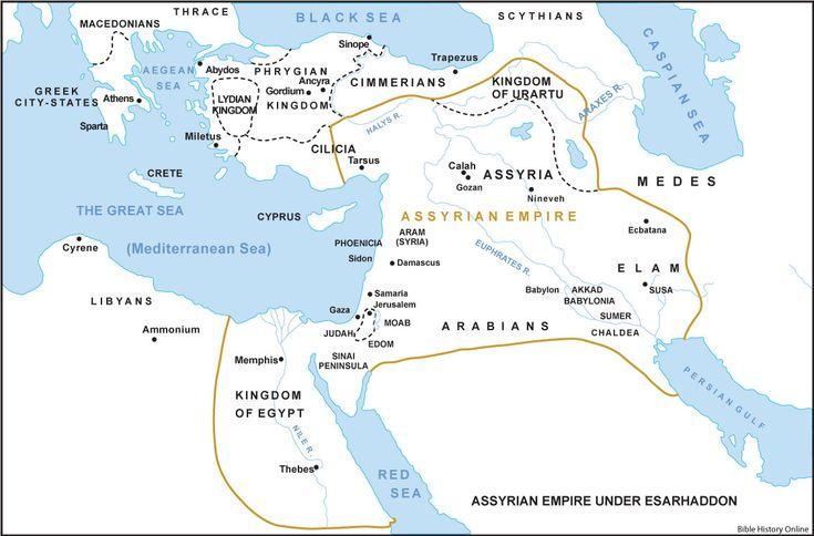Isaiah 53- Assyrian Empire Under Esarhaddon