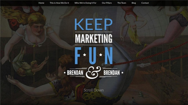 15 Landing Pages with Inspiring and Creative Graphics and Designs