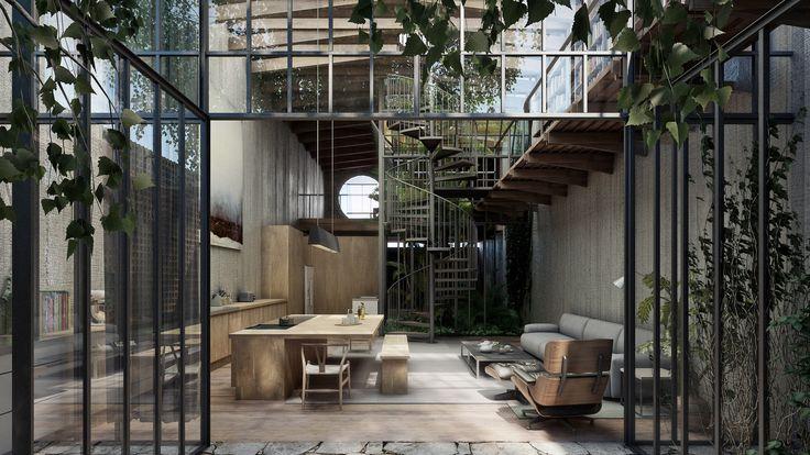 25 Best Ideas About Concrete Houses On Pinterest