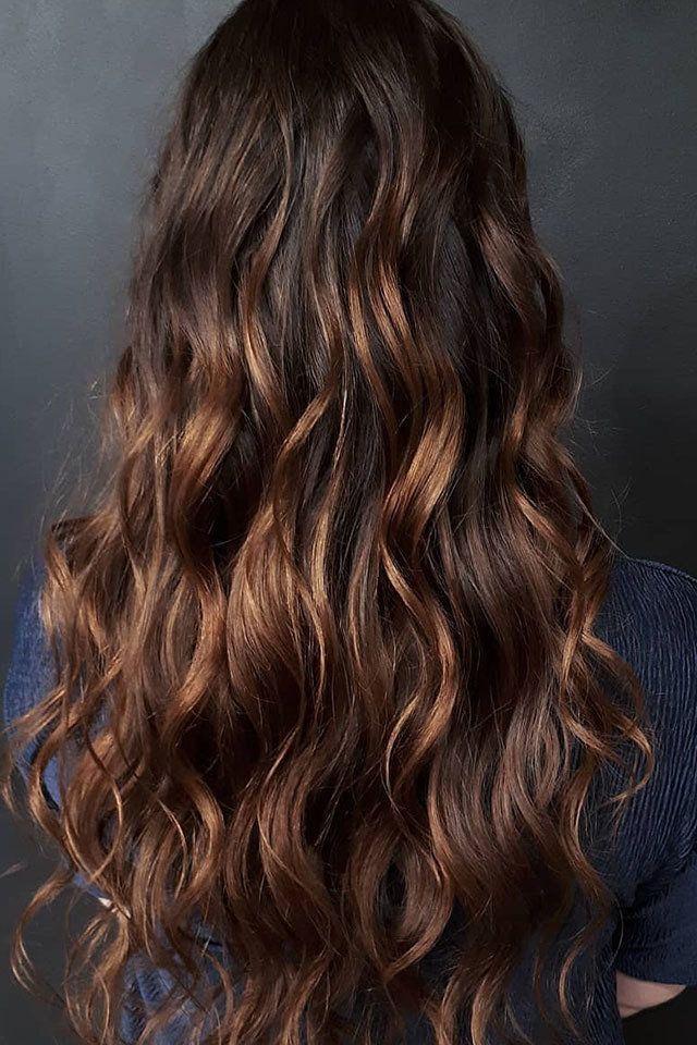 تعرفي على ألوان الـ هايلايت المناسبة لشعرك الأسود Hair Color For Black Hair Hair Long Hair Styles