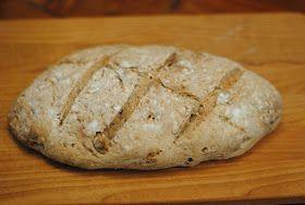 Anne's hyggested: Ugens Brød: Valnøddebrød med appelsin og timian