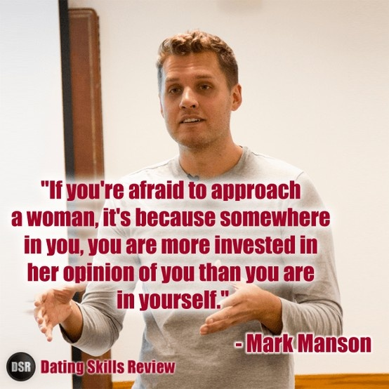 Mark manson dating coach