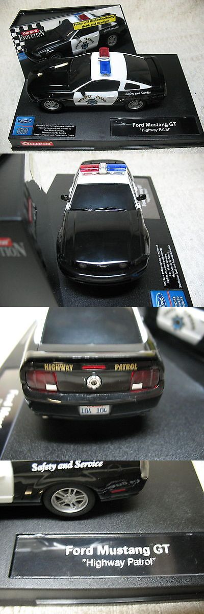 Pre-1970 4782: 1 32 2005 Carrera California Highway Patrol Mustang Black And White Slot Car-Rare! -> BUY IT NOW ONLY: $124.99 on eBay!