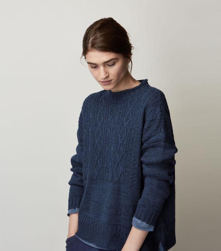 394 best Gansey love! images on Pinterest | Guernsey, Knitting ...