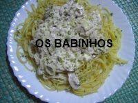 AS PAPINHAS DOS BABINHOS: Esparguete com atum - http://aspapinhasdosbabinhos.blogspot.pt/2010/08/esparguete-com-atum.html