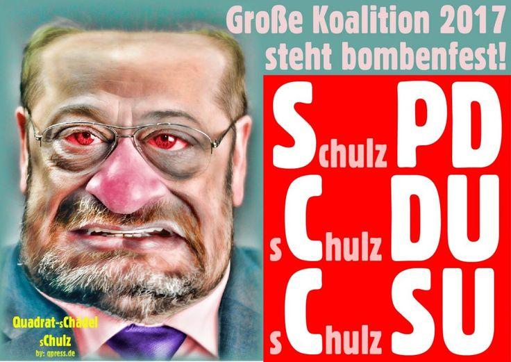 ❌❌❌ Die Show wurde als gut und gelungen bezeichnet. Auch mit der Selbstbeweihräucherung der SPD-Führungsetage gab es keine Probleme. Hinter die Fassade will wirklich niemand mehr sehen. Da liegt einfach zu viel Dreck aus 150 Jahren Arbeiterverrat den niemand mehr wegräumen will. Stattdessen machen wir lieber Party mit Mutti. Dieser Sonderparteitag kann als wunderbarer Beleg dafür gelten, dass auch das Fussvolk der SPD gerne von A-Z belogen werden möchte. ❌❌❌ #Chulz #Chef #SPD #Schulz