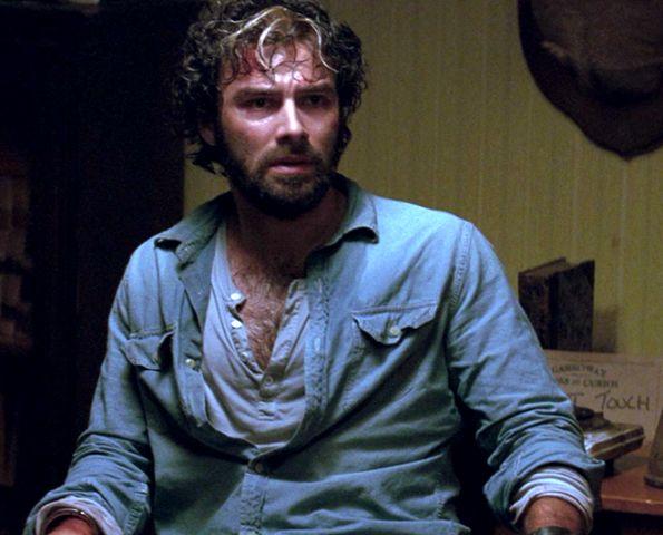 Aidan Turner in City of Bones.  Now he's the werewolf.