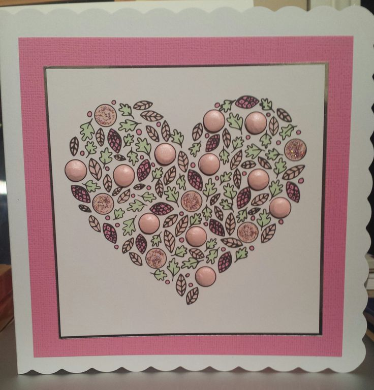 A card made for 'The Big Pink'