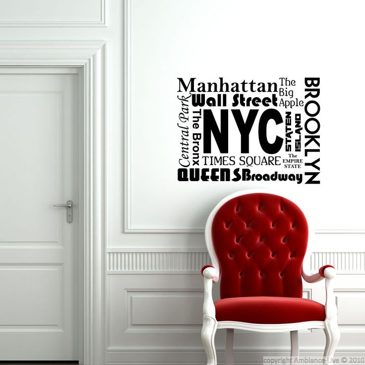 Sticker New York City, Brooklyn… – Stickers Villes et Voyages New York - Ambiance-sticker