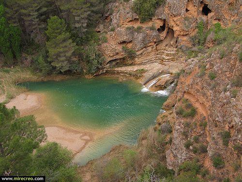 www.miercreo.com Ruta de las chorreras, Enguidanos, Cuenca #cuenca  #cabriel   #castillalamancha   #turismo   #tourism   #españa   #spain   #mirecreo   #cascadas #enguidanos #senderismo