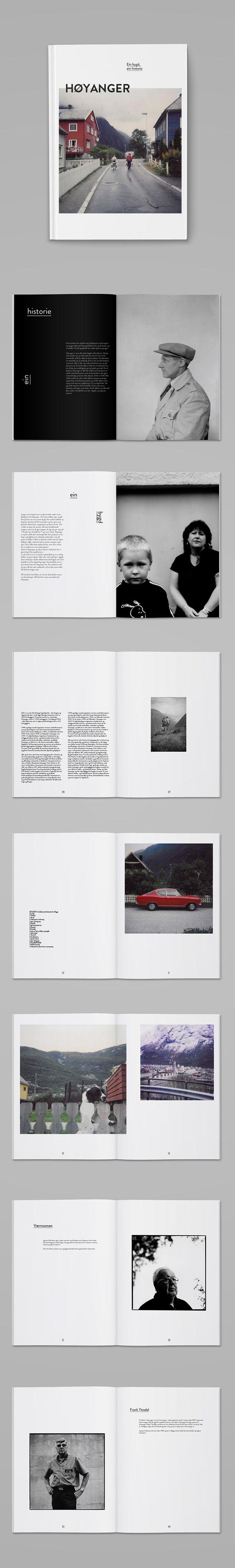 Høyanger on Editorial Design Served