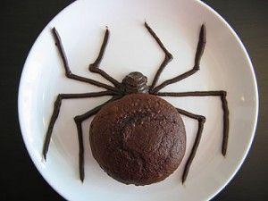 Araña de chocolate, encuentra la receta de éste y otros snacks para Halloween aquí... http://www.1001consejos.com/snacks-para-halloween