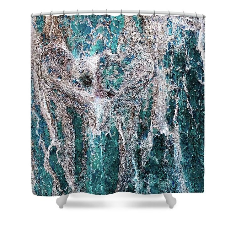 Tree Love Shower Curtain,Heart of a Tree,Turquoise,Blue,Tree Shower Curtains,Nature Bath Decor.Shower Accessories,Bathroom Decor,Heart Decor by HeatherJoyceMorrill on Etsy