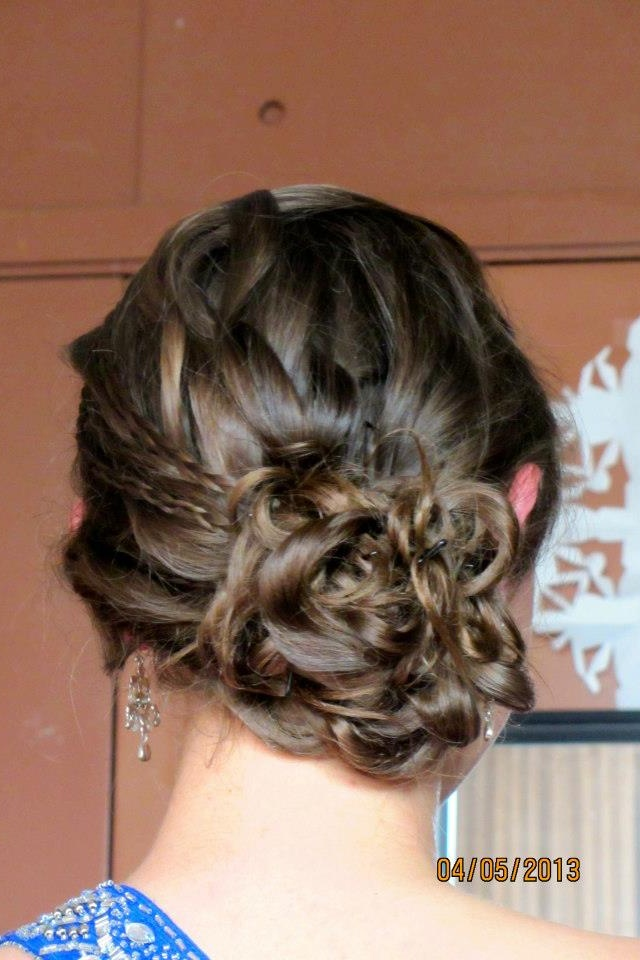 Military ball hair! Thanks Sierra!