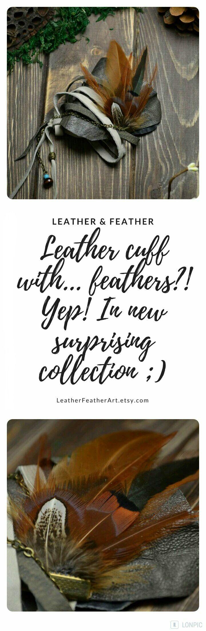BOHO TRIBAL ALTERNATIVE fashion leather half cuff