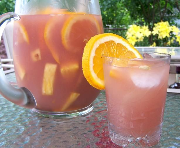 Rosé Sangria With Pineapple and Guava
