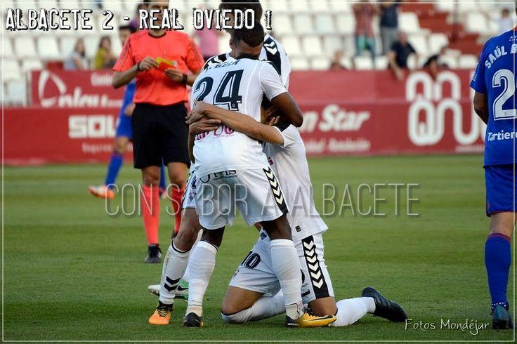 LA GALERÍA DE LA VICTORIA; ALBACETE 2 - OVIEDO 1  Albacete Balompié Carlos Belmonte Fútbol Galería fútbol LaLiga 123 Real Oviedo Temporada 2017/18