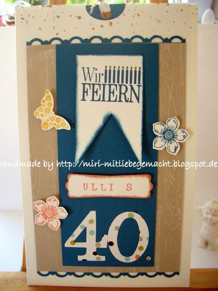 Geburtstagskarten 40 Geburtstag: 8 Best Images About Einladungskarten 40. Geburtstag On