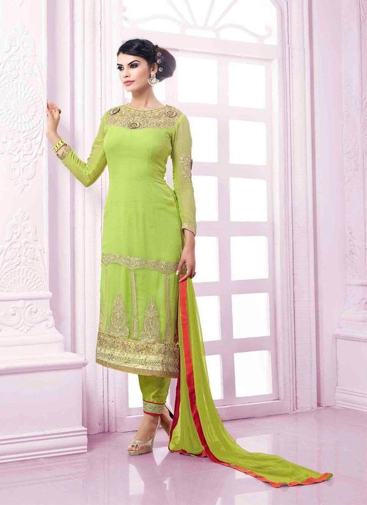 Designer Indian Wedding Anarkali Kameez Bollywood Pakistani Salwar Suit 1990…