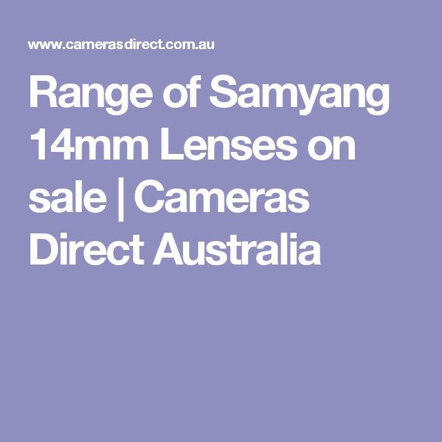 Range of Samyang 14mm Lenses on sale   Cameras Direct Australia