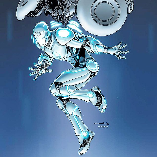 O Homem de Ferro 'Superior', criado por Yildiray Cinar e Tom Taylor - rogerio gualberto