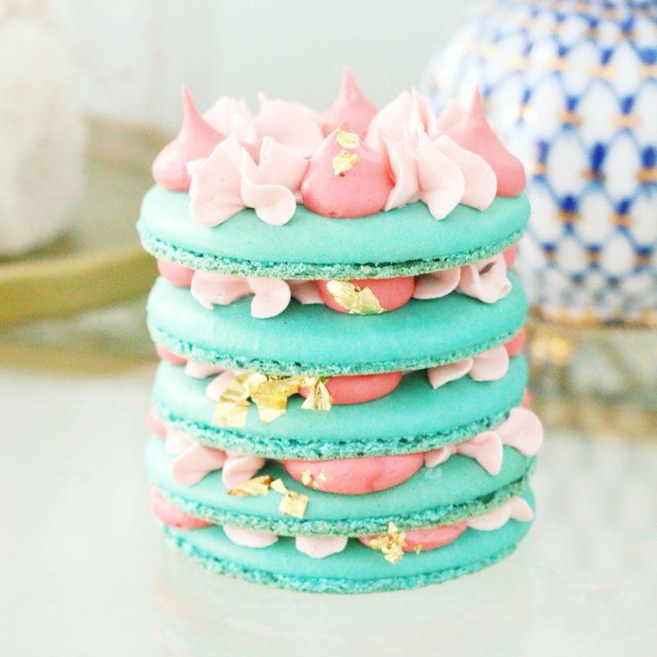French macaroon cake recipe