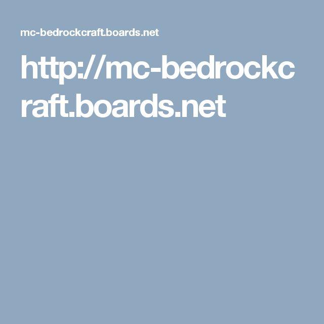 httpmc bedrockcraftboardsnet