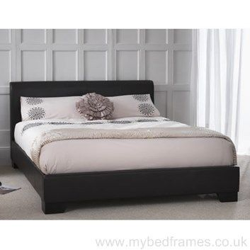 parma faux leather bed frame - Used Bed Frames