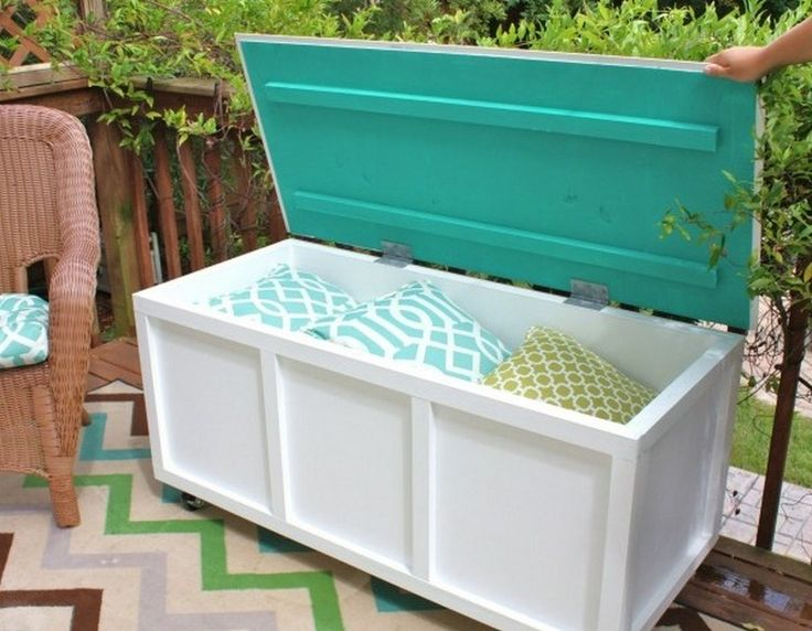 Articles about Outdoor Storage Bench Instructions - Woodworking
