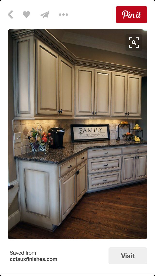 Pin by MrsWms on Home makeover | Distressed kitchen ...