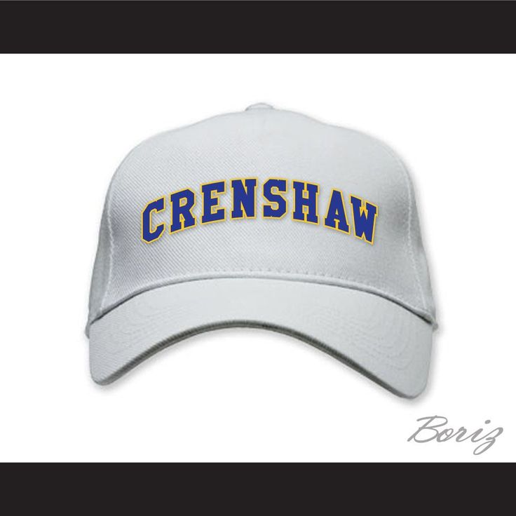 Crenshaw High School Baseball Hat Love and Basketball. Brand New HatEmbroidered GraphicsAdjustable Snap FitPerfect for HalloweenItem sent from Asia Apo. Package has Online Tracking via local mail carrier, registered mail, and signed for.Delivery takes around 2-3 weeks, sent out fast.