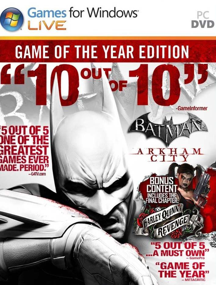 Batman Arkham City PC Game Free Download The Year Edition Full Version From Online To Here. Download This Action Adventure Full Video Game for PC and Play.