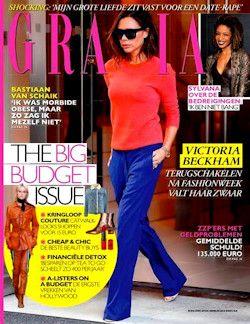 Proefabonnement: 4x Grazia € 11,25: Grazia is de eerste wekelijks verschijnende glossy met een mix van mode & beauty, emotionele real life stories en goed geinformeerd celebritynews.