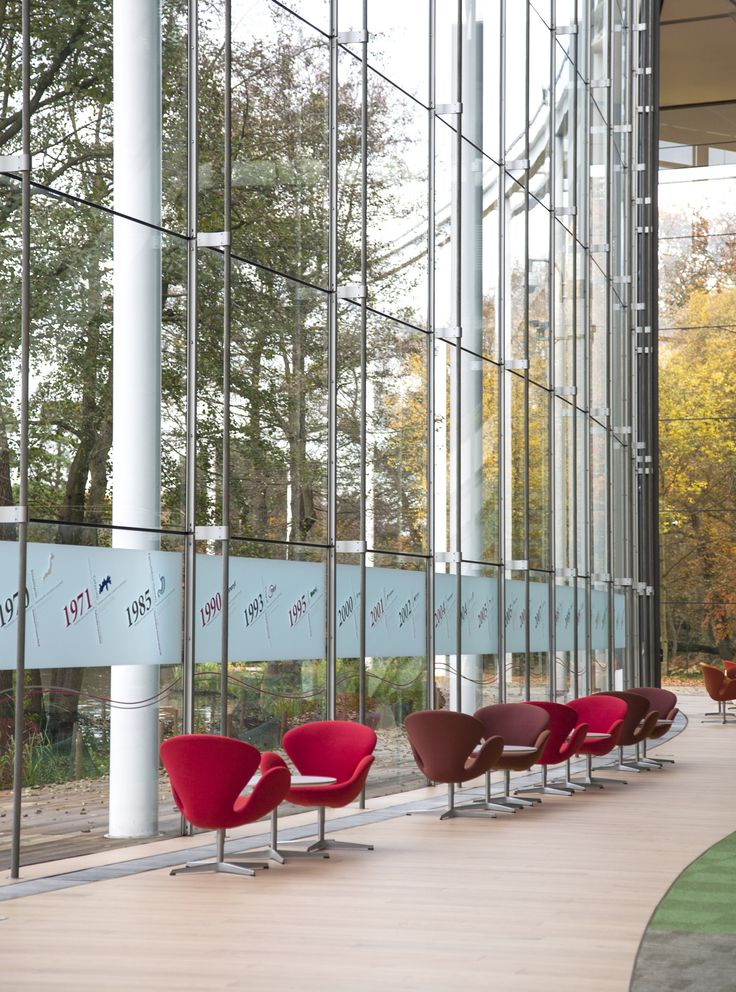 #Frosted band of #manifestation at the entrance of #Astellas #Pharma