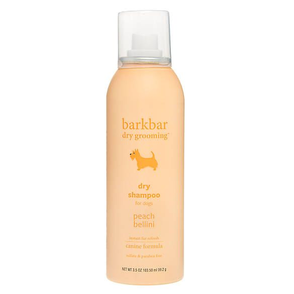 Barkbar Dry Grooming Peach Bellini Dry Shampoo For Dogs Dog Shampoos Conditioners Petsmart Dry Shampoo Shampoo Dog Shampoo
