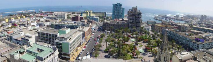 Panorámica del Centro de Antofagasta, 2004. - EnterrenoEnterreno