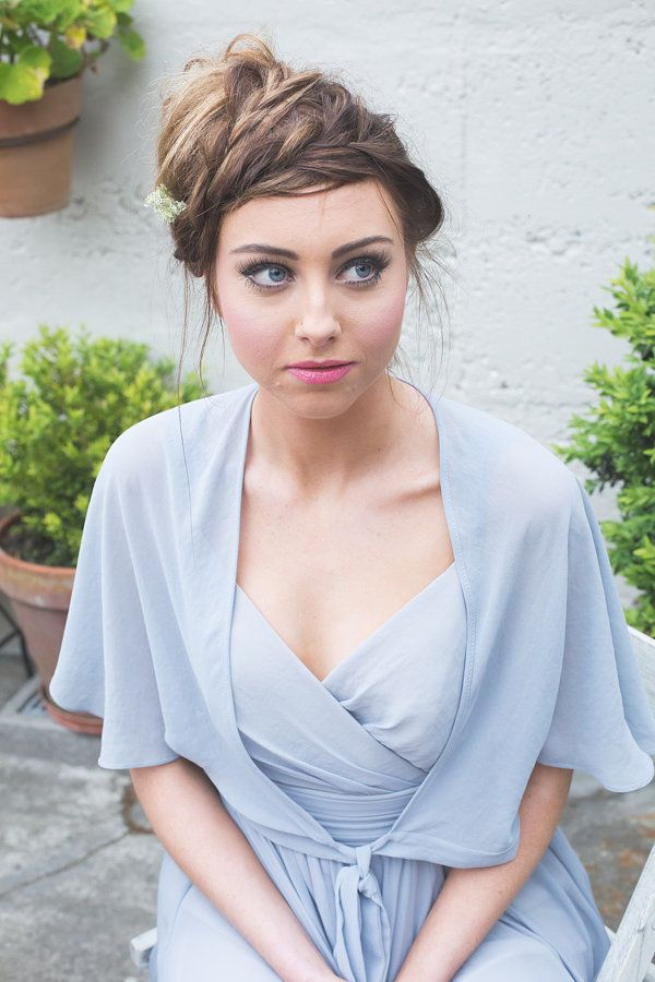 ViCTOR Bridesmaid - Chiffon Bolero and style EMMA dress