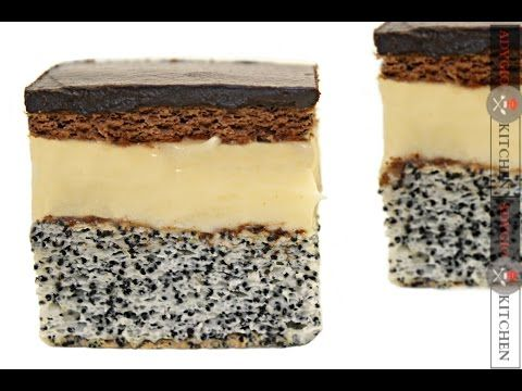 Prajitura Tosca / Tosca cake - Adygio Kitchen - YouTube