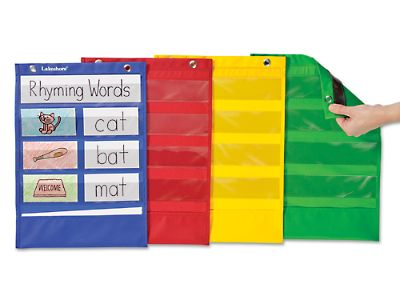 Learning Center Magnetic Pocket Charts - Set of 4 at Lakeshore Learning