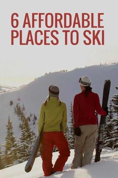 6 Affordable Places to Ski | Frugal Vacation Ideas | Family Vacation Tips | How To Cut Skiing Costs | Bear Valley in California | Mount Rose in Nevada | Mount Baldy in California | Snowbird in Utah | Mount Bachelor in Oregon | Top Ski Spots | Budget Ski Vacation | Best Money Saving Ski Locations