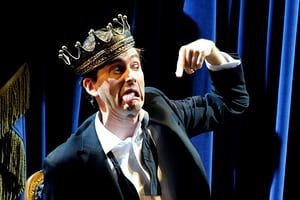 David Tennant (Hamlet) in Hamlet by The Royal Shakespeare Company @ Novello (Opening 9-12-08)