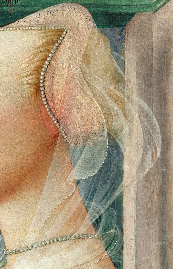 Fra Filippo Lippi (c.1406-1469) - Profile portrait of young woman
