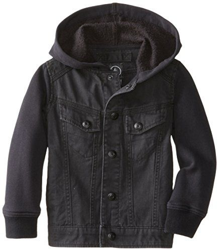 Volcom Little Boys' Stomper Jacket, Black, 2T