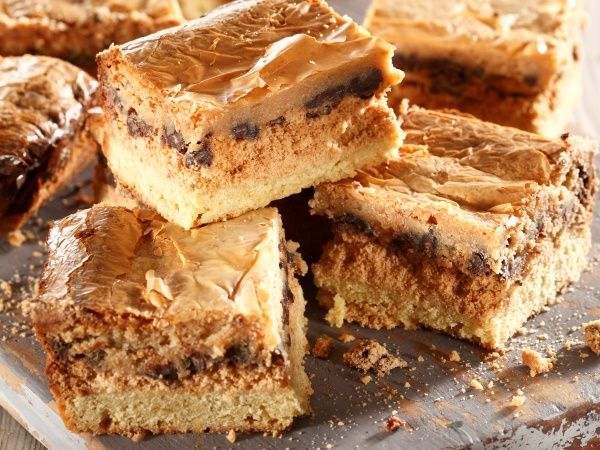 Rich layers of peanut butter, chocolate and caramel – what's not to love about these melt-in-the-mouth treats! PHOTO: David Briers